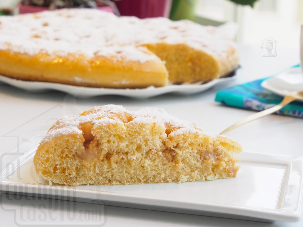 Torta de nata casera - Paso 9