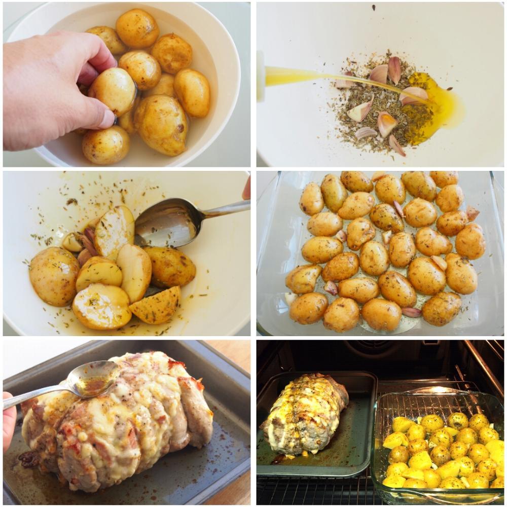 Lomo relleno de jamón y queso - Paso 5