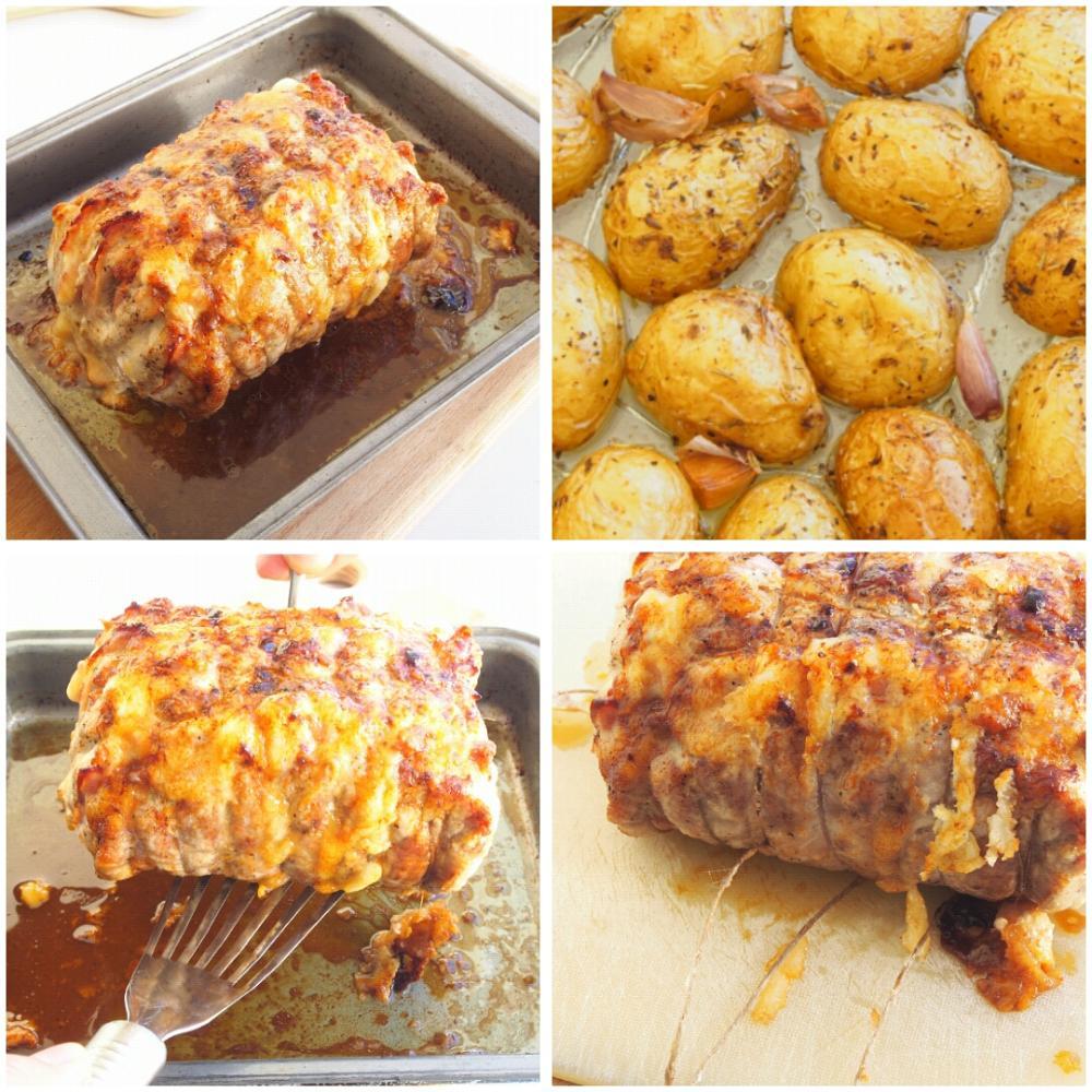 Lomo relleno de jamón y queso - Paso 6
