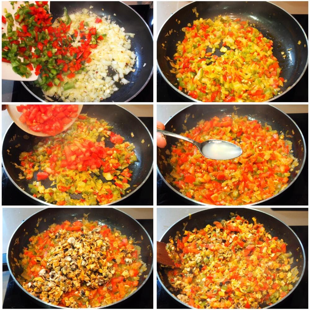 Mejillones al horno con pan rallado - Paso 6