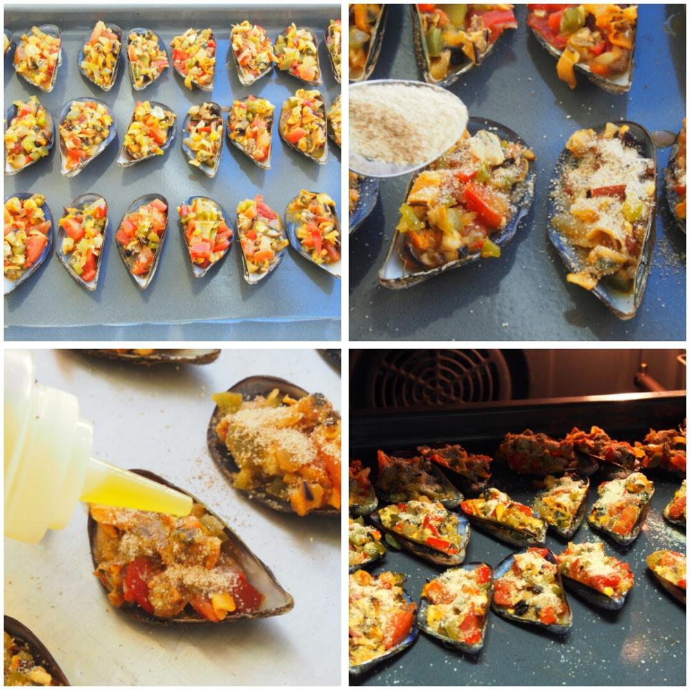 Mejillones al horno con pan rallado - Paso 7