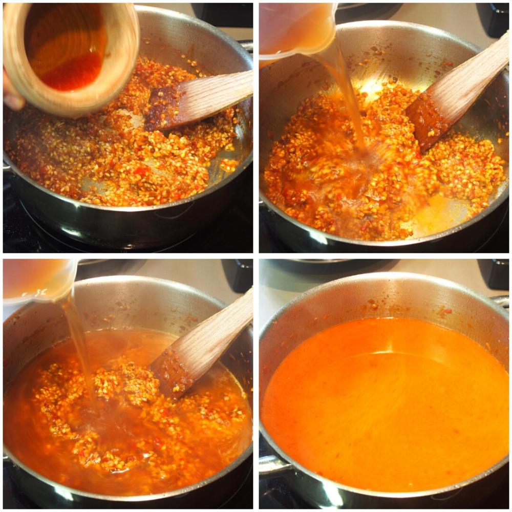 Arroz caldoso de bogavante  - Paso 10