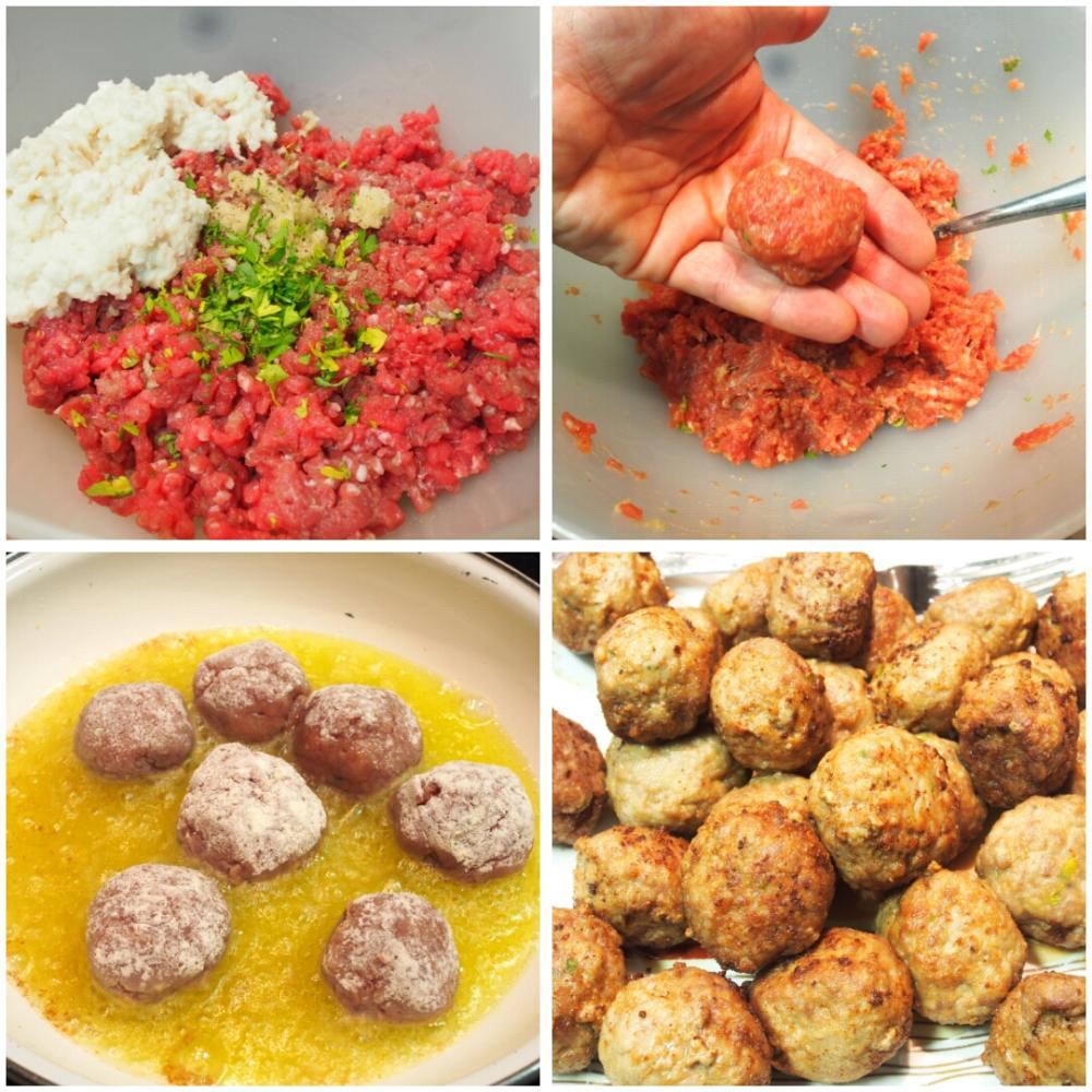 Albóndigas caseras en salsa - Paso 1