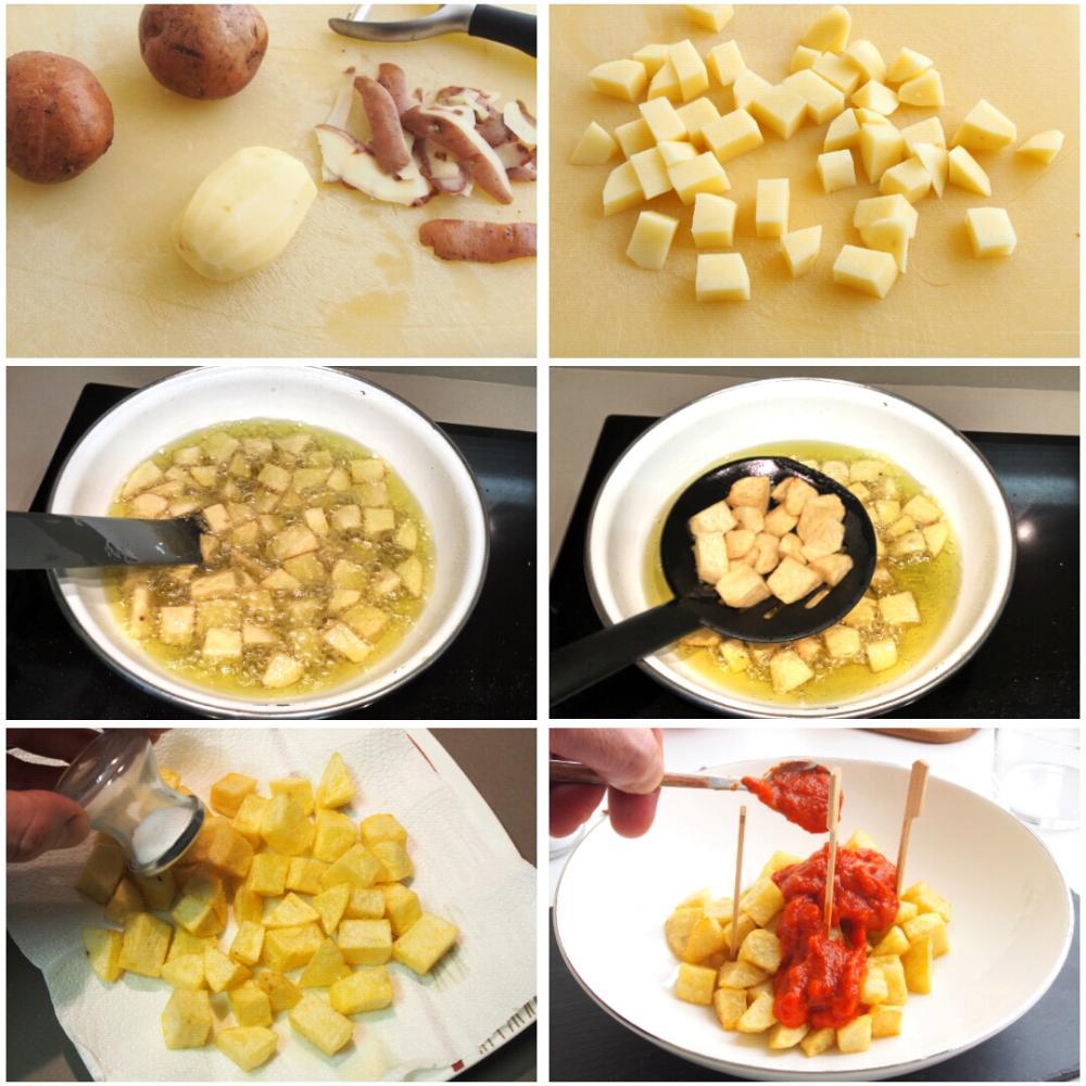 Patatas bravas caseras - Paso 6