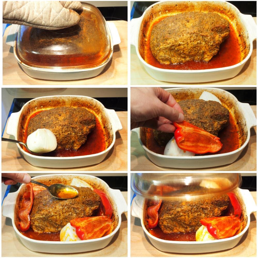 Jamón asado al horno - Paso 6