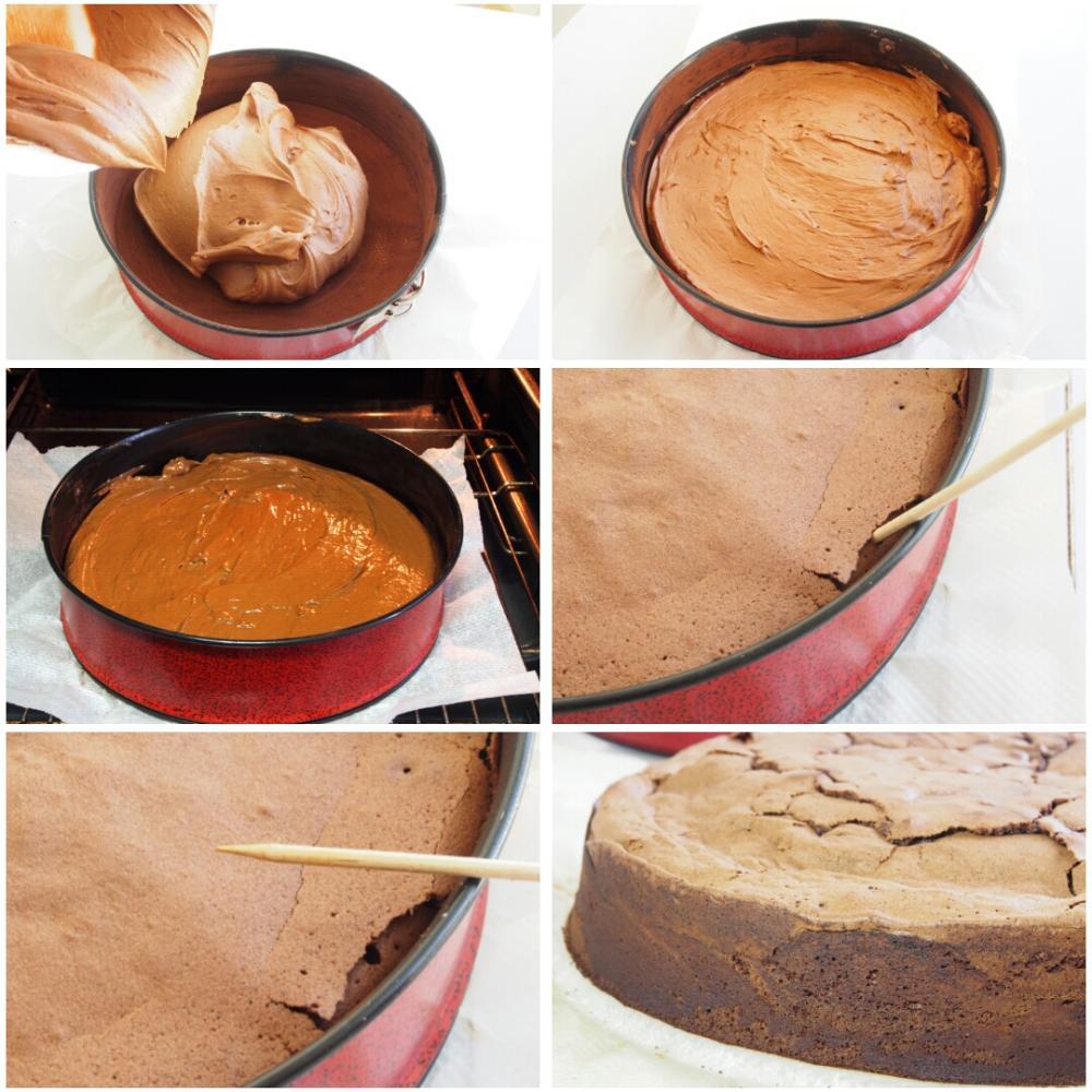 Bizcocho de chocolate - Paso 6