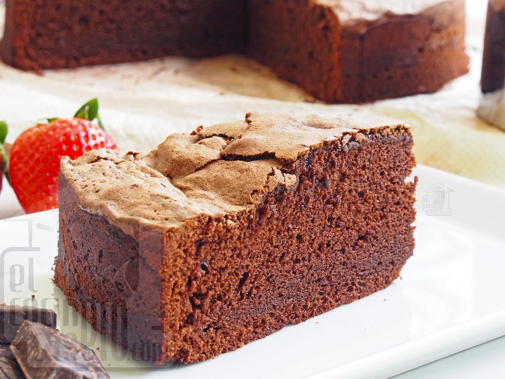 Bizcocho de chocolate - Paso 7