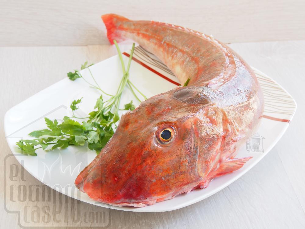 Caldeirada de pescado - Paso 1