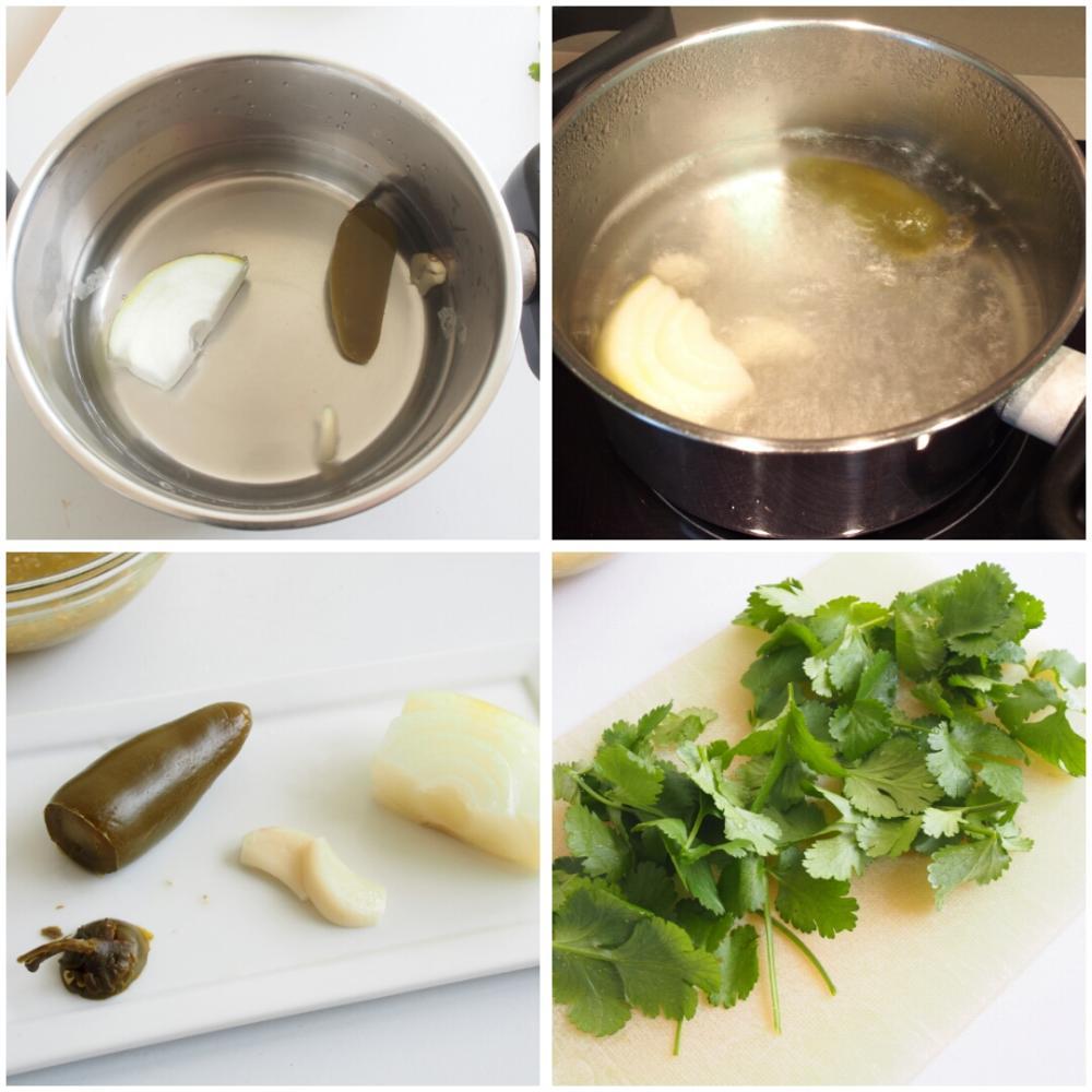 Salsa verde para tacos - Paso 3