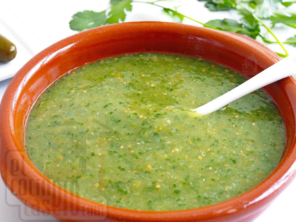 Salsa verde para tacos - Paso 6