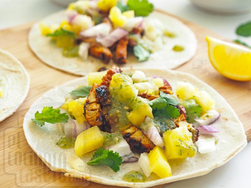 Tacos al pastor  - Paso 10
