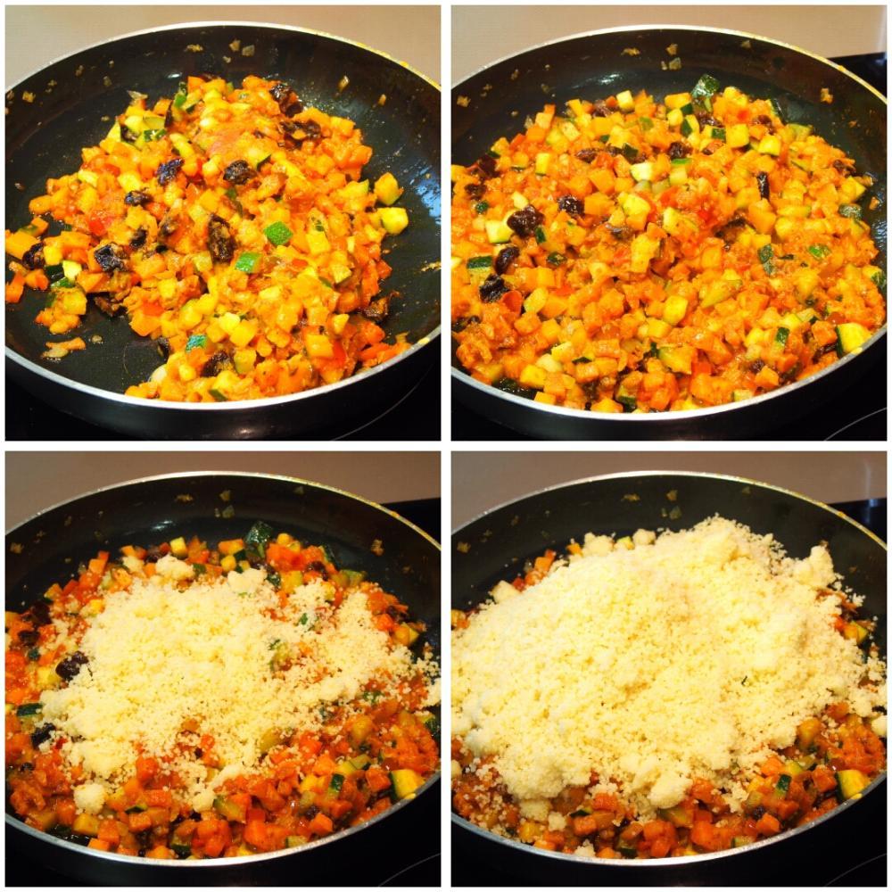 Cuscús de verduras - Paso 7