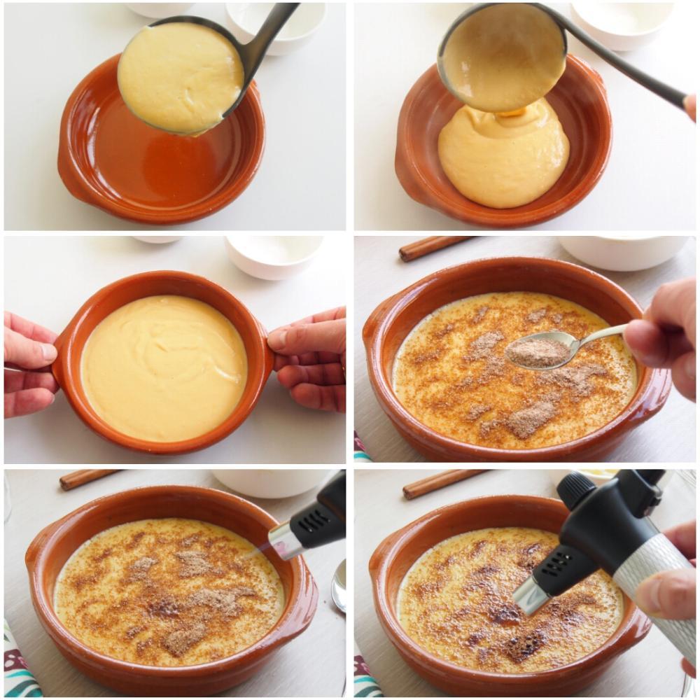 Cómo hacer crema catalana casera - Paso 4