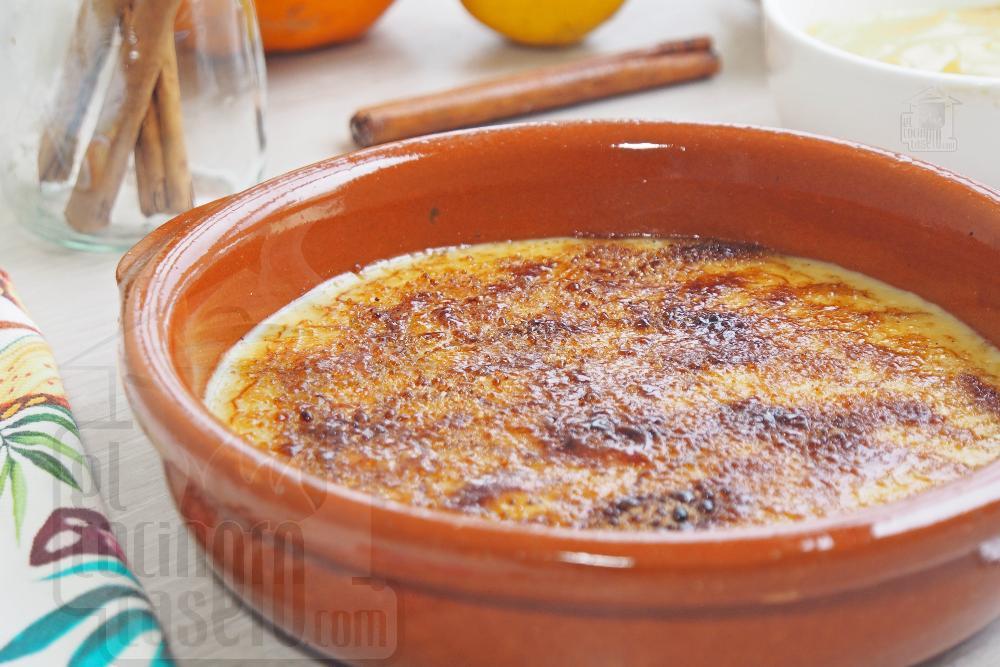 Cómo hacer crema catalana casera - Paso 5