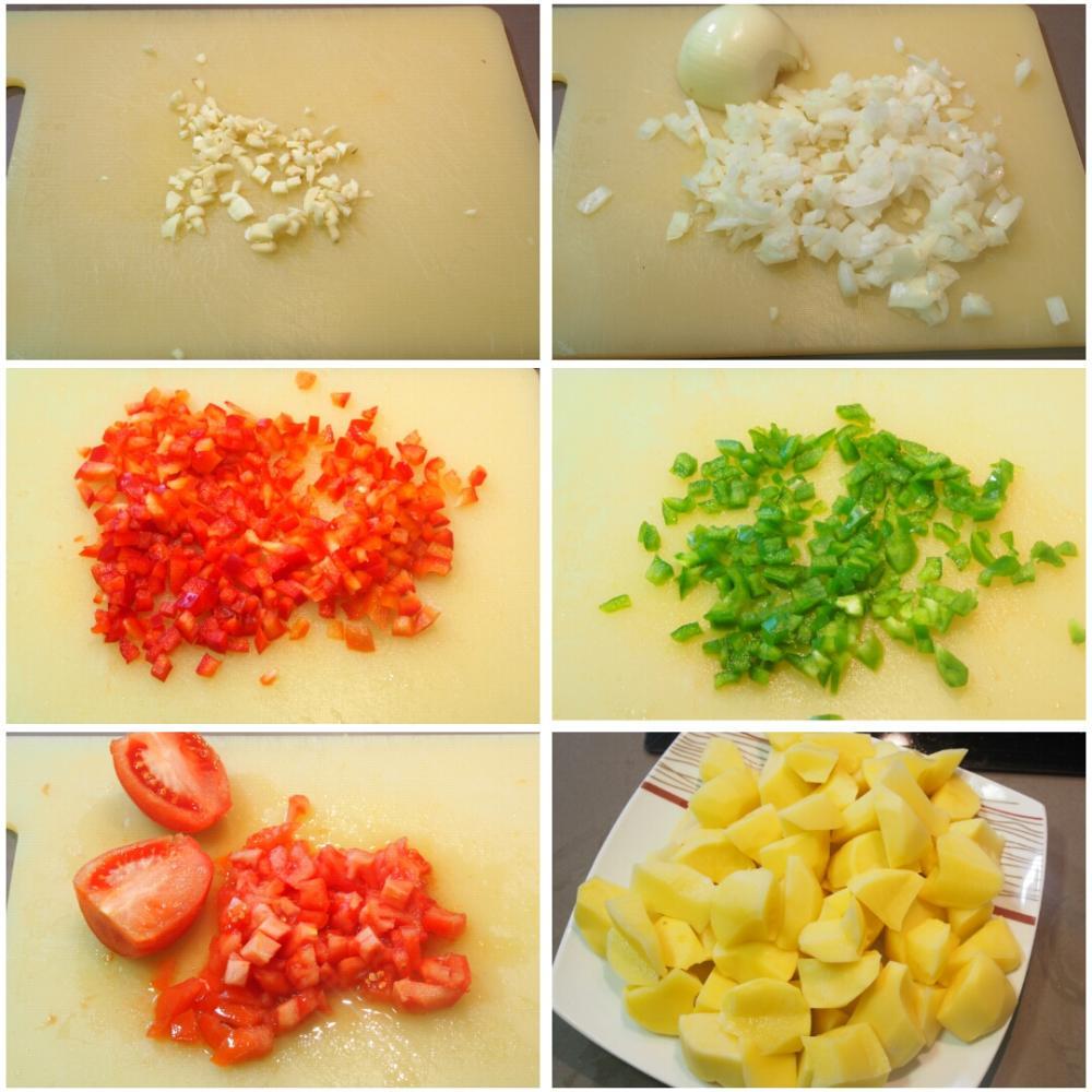 Guiso de chocos con patatas - Paso 2