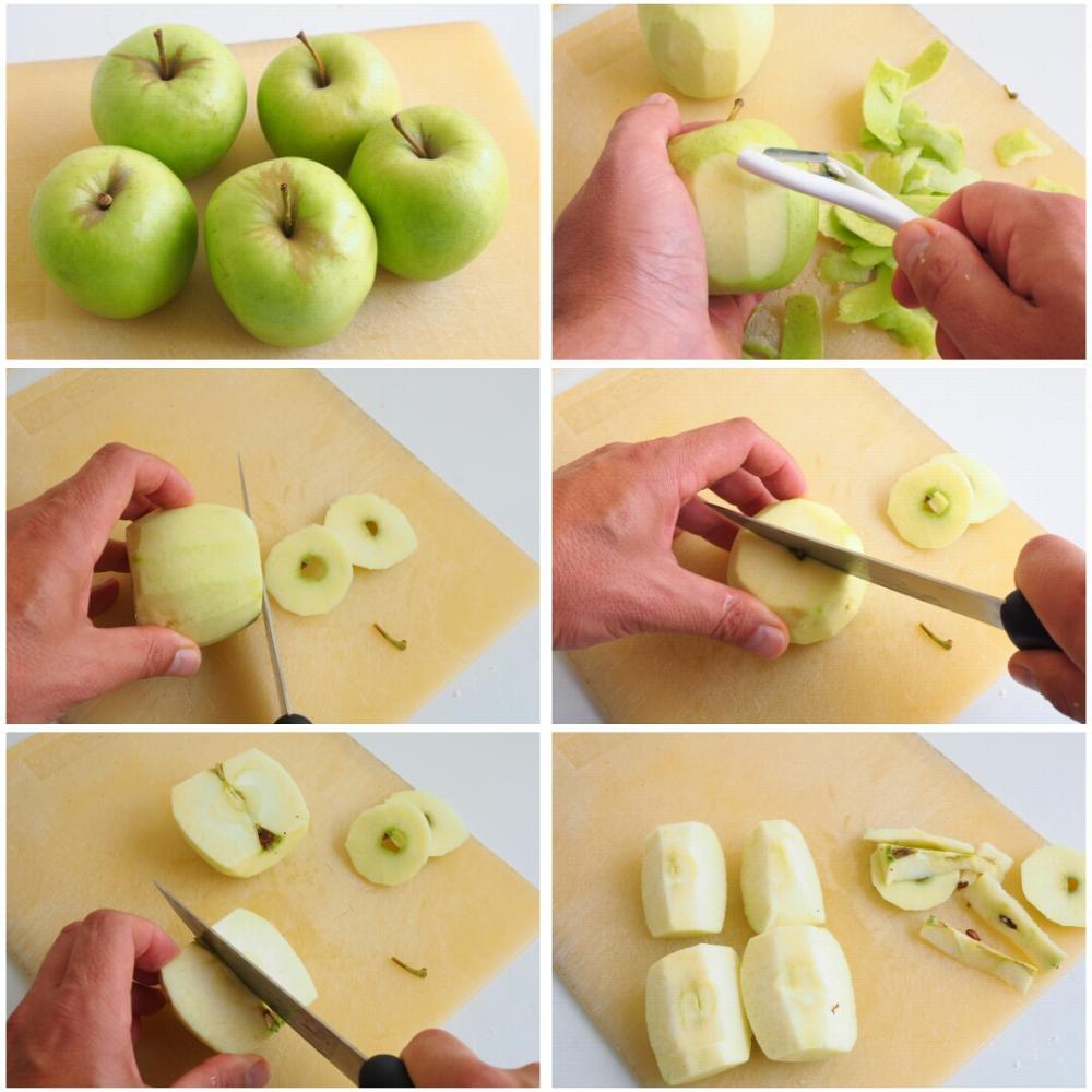 Tarta Tatin de manzana - Paso 1