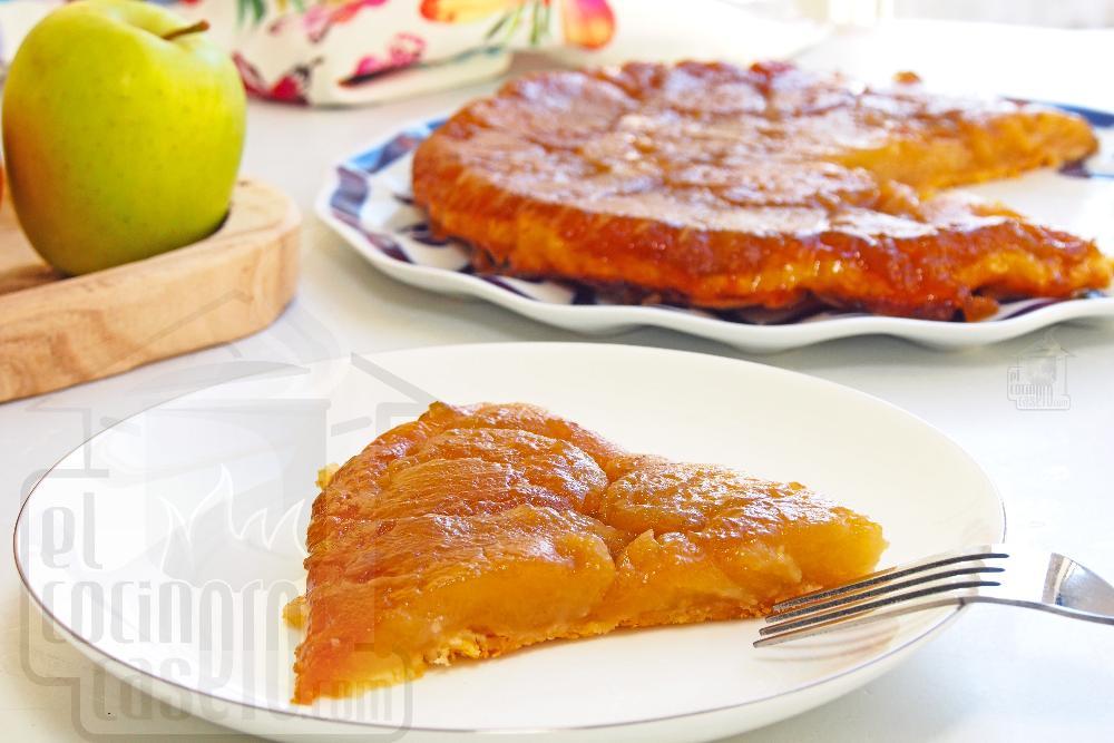 Tarta Tatin de manzana - Paso 8