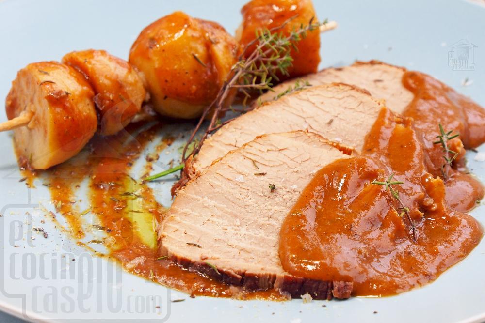 Redondo de ternera en salsa - Paso 11