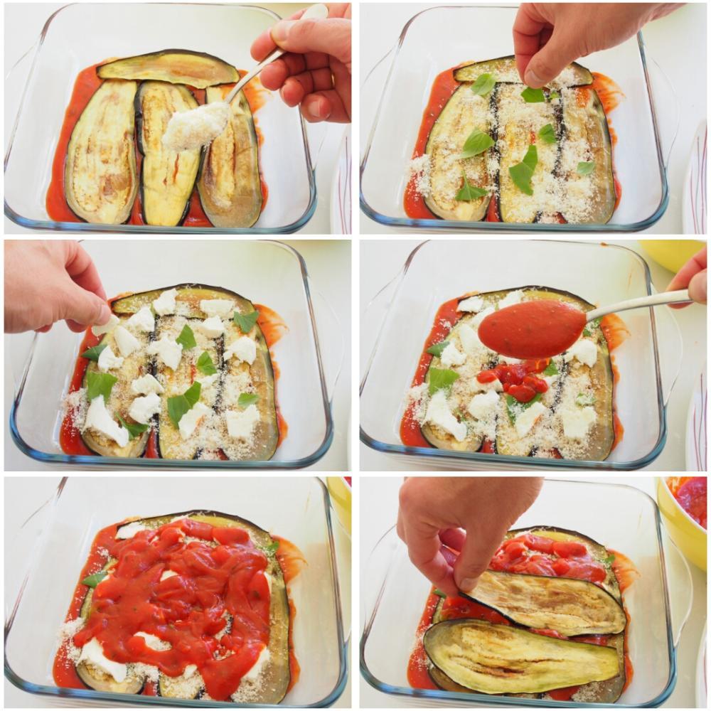 Berenjenas a la parmesana - Paso 7