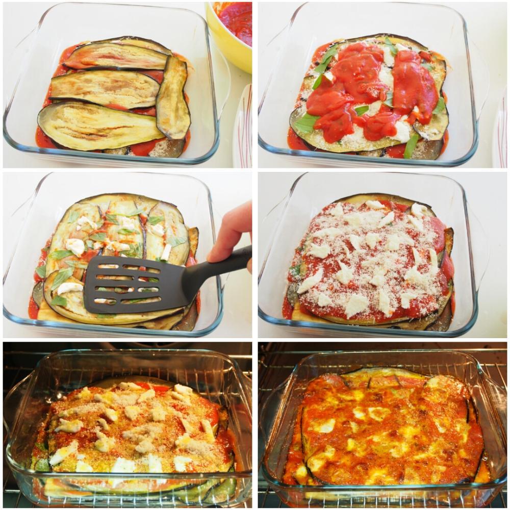 Berenjenas a la parmesana - Paso 8
