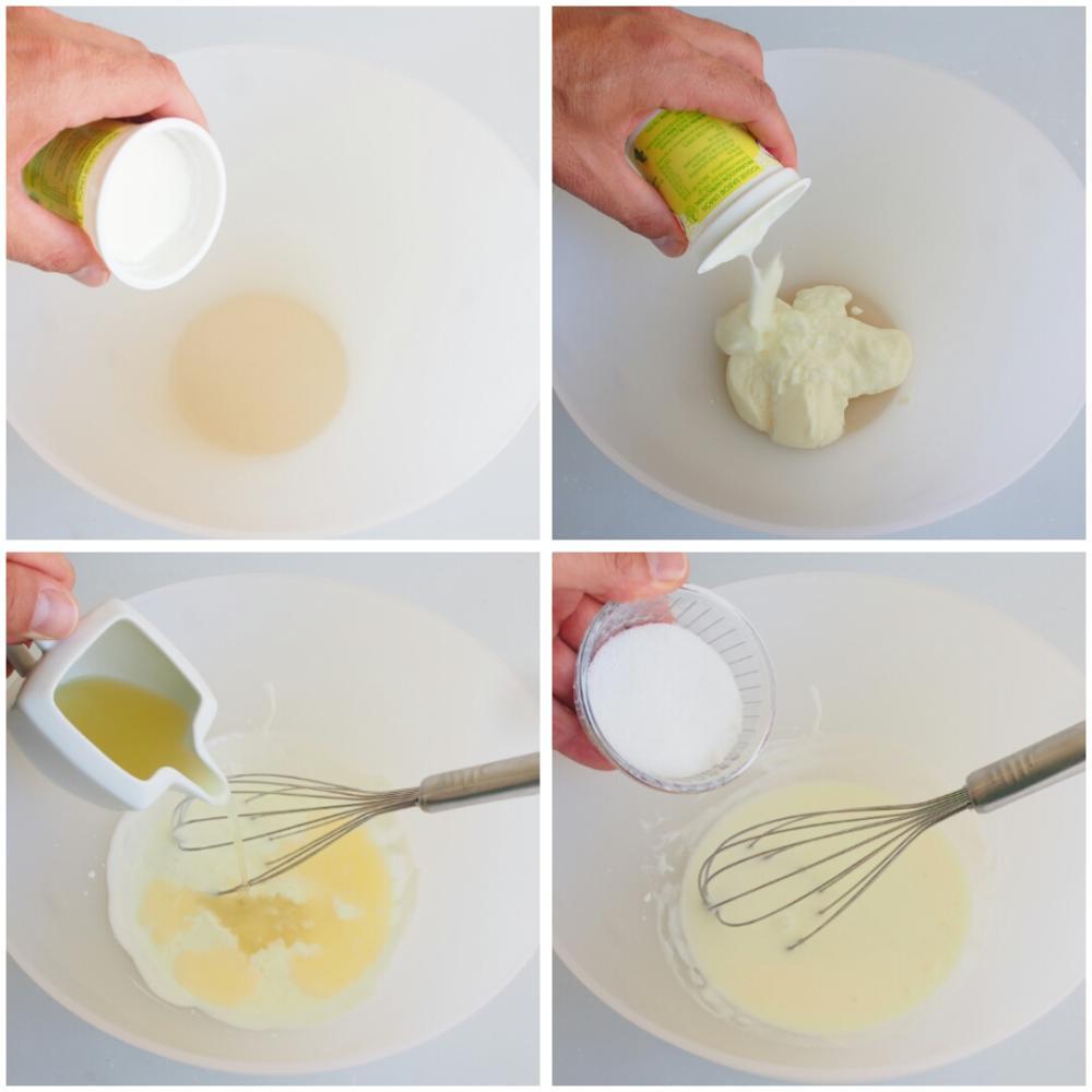 Mousse de limón - Paso 2