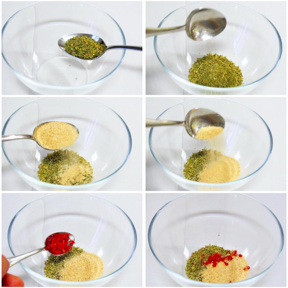 Salsa chimichurri - Paso 1