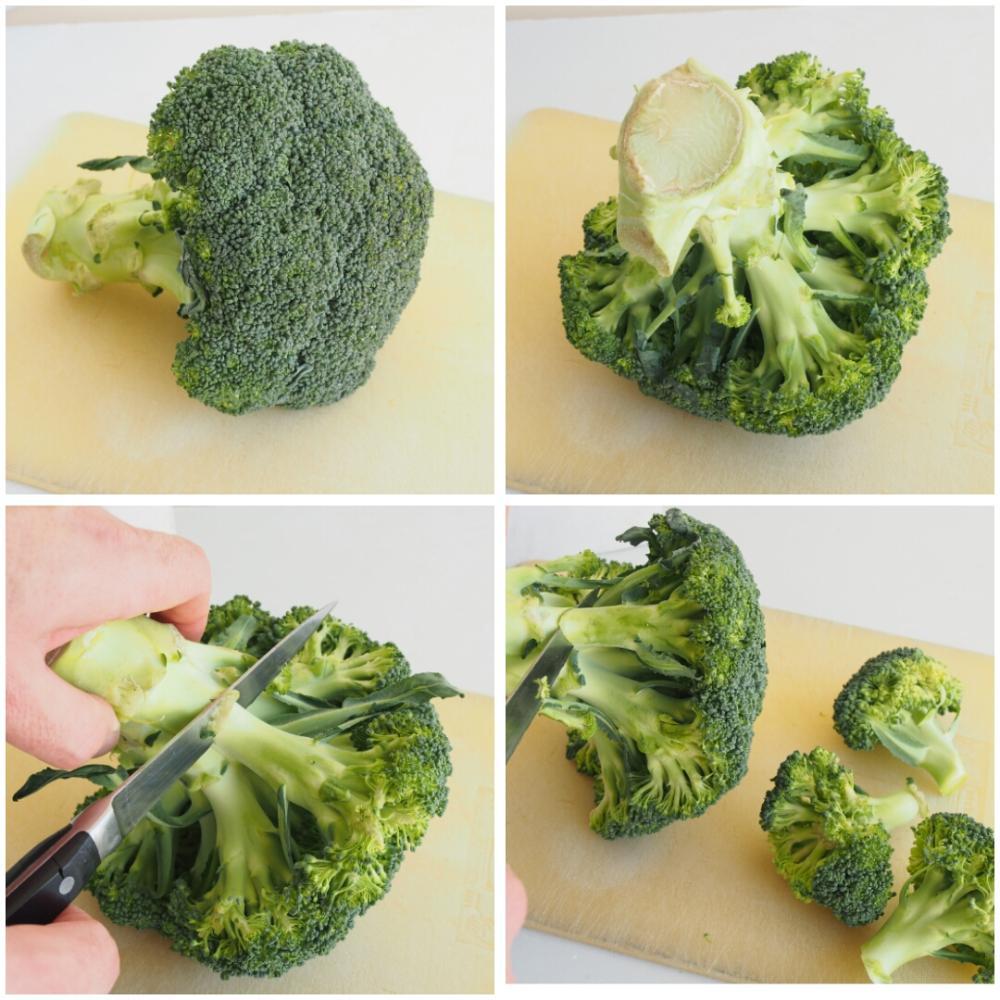 Cómo cocinar brócoli  - Paso 1