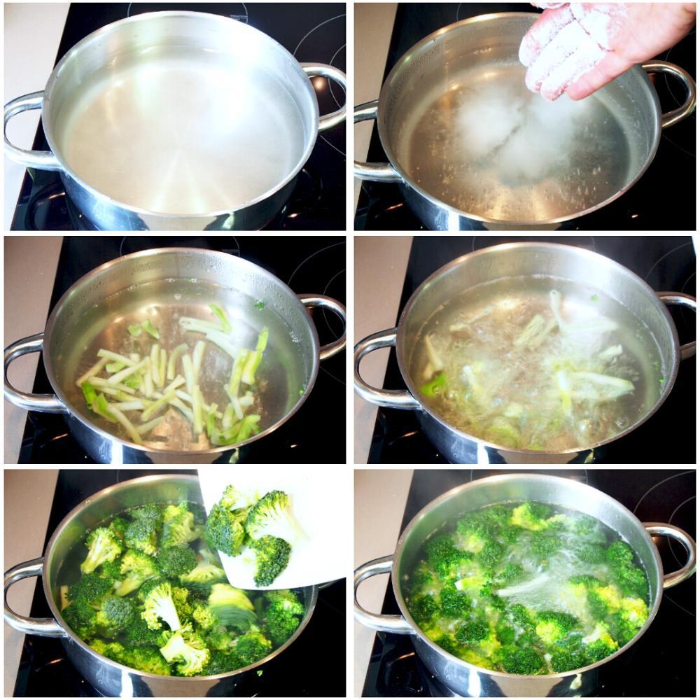 Cómo cocinar brócoli  - Paso 5