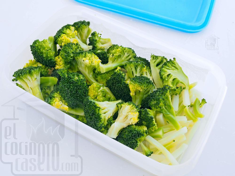 Cómo cocinar brócoli  - Paso 7