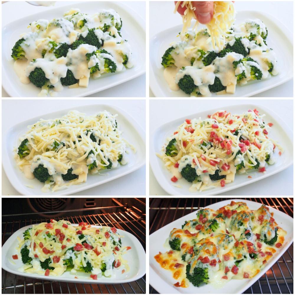 Brócoli al horno con queso - Paso 4
