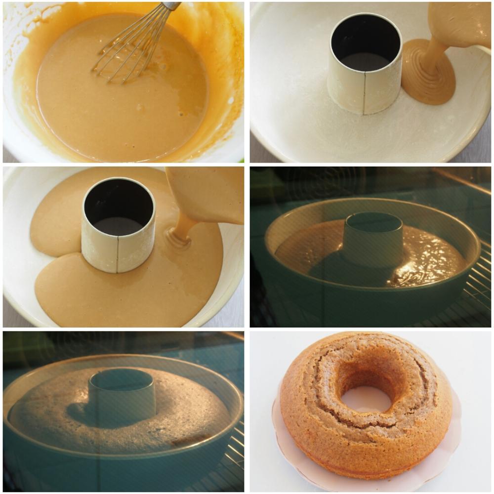 Bizcocho de café y canela - Paso 5