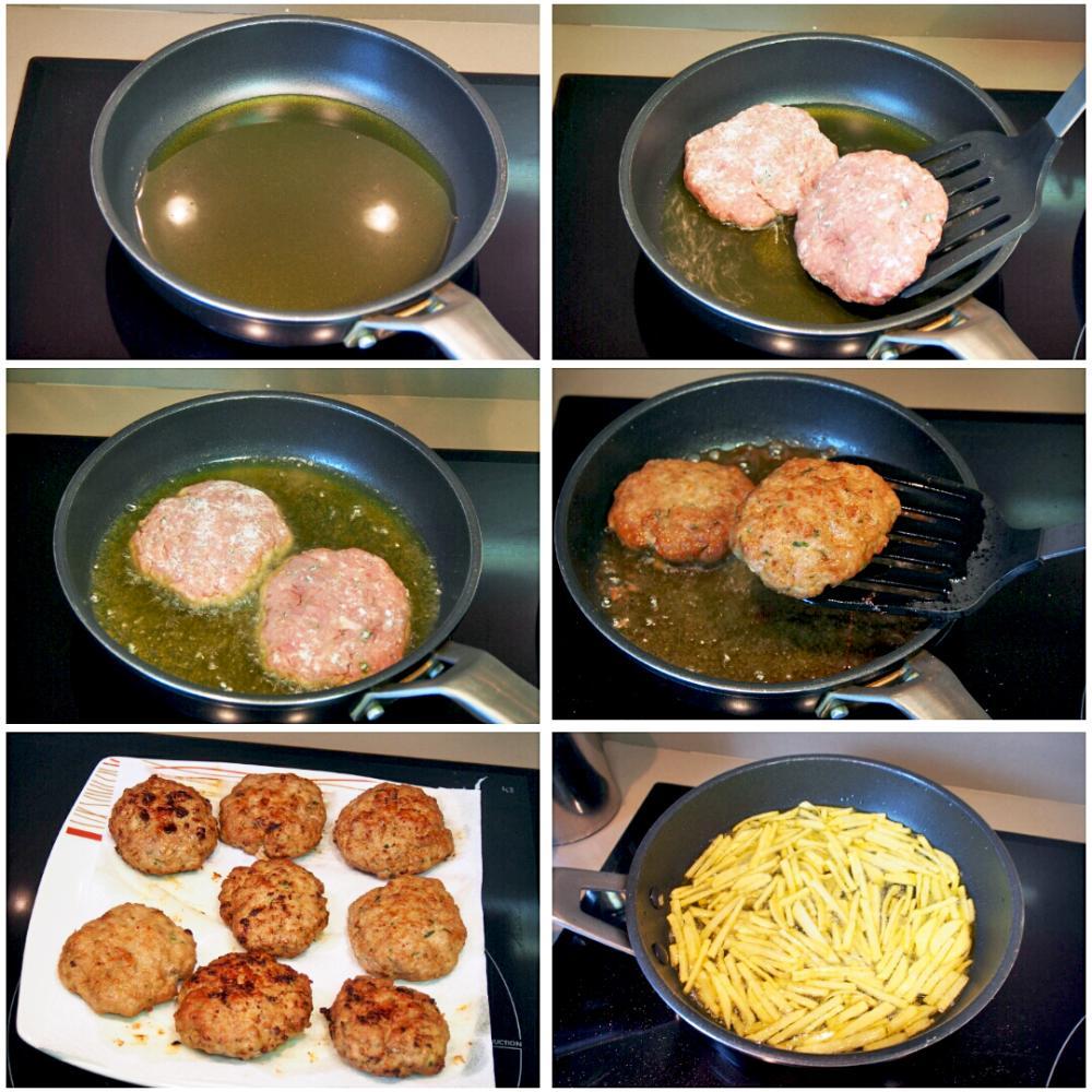 Cómo hacer filetes rusos - Paso 6