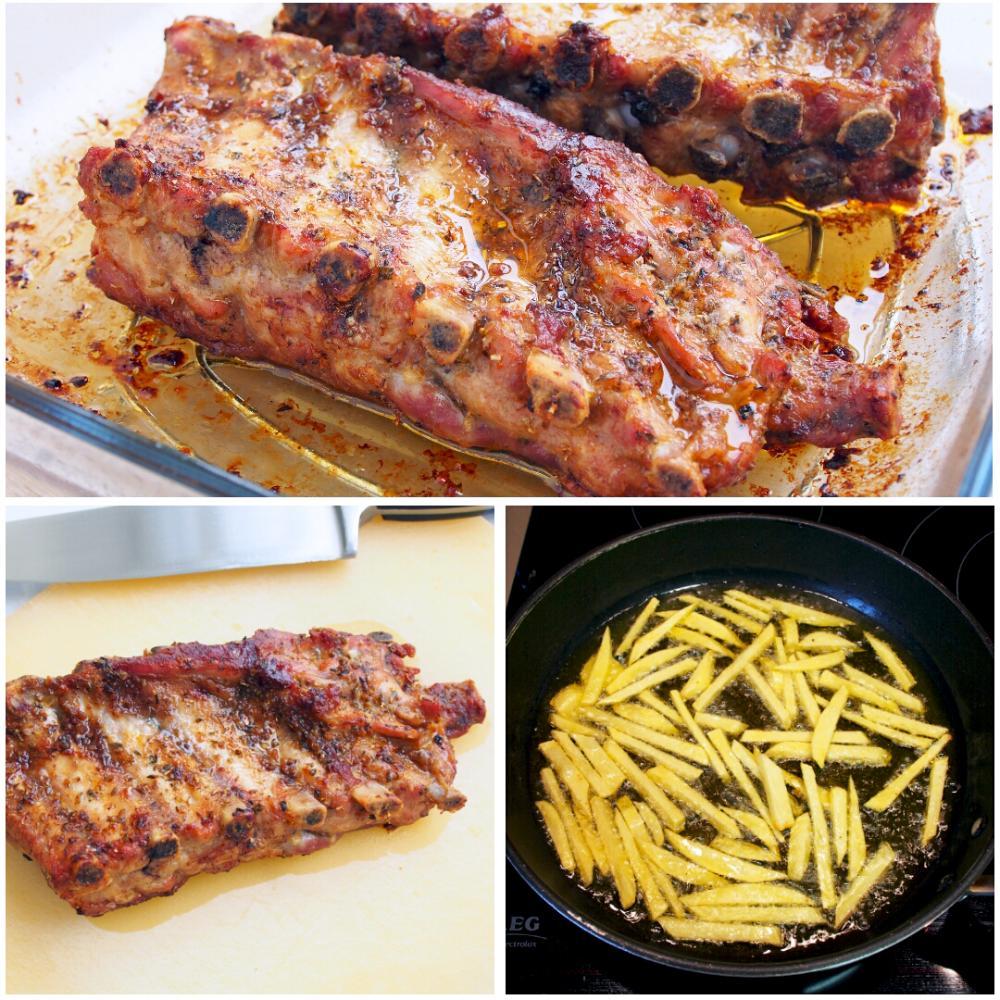 Churrasco de cerdo al horno - Paso 5