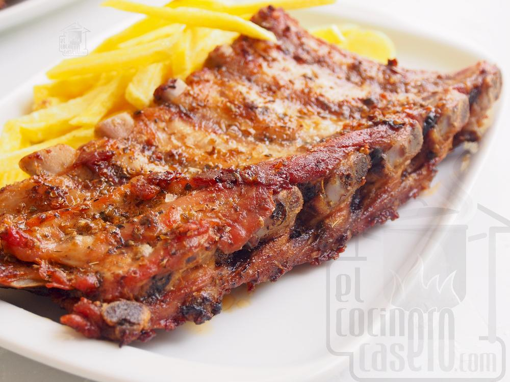 Churrasco de cerdo al horno - Paso 6