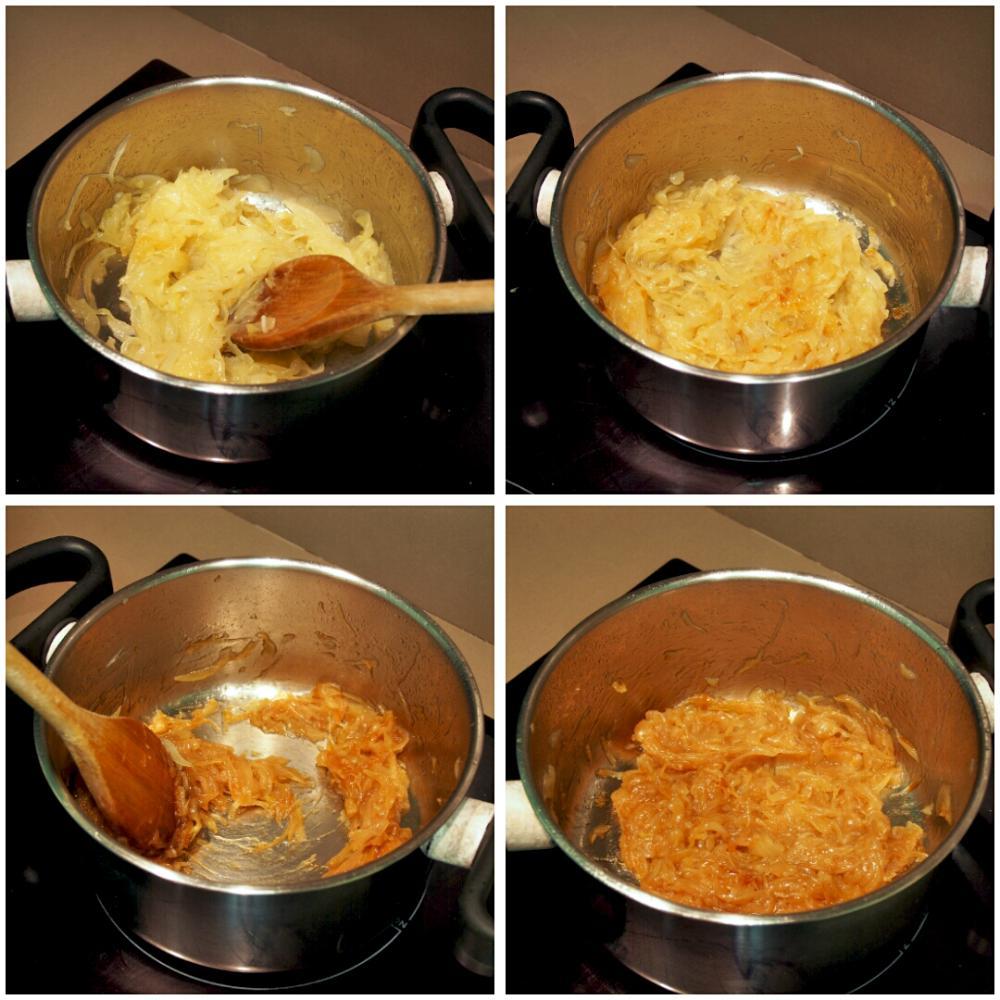 Cómo hacer cebolla caramelizada - Paso 4