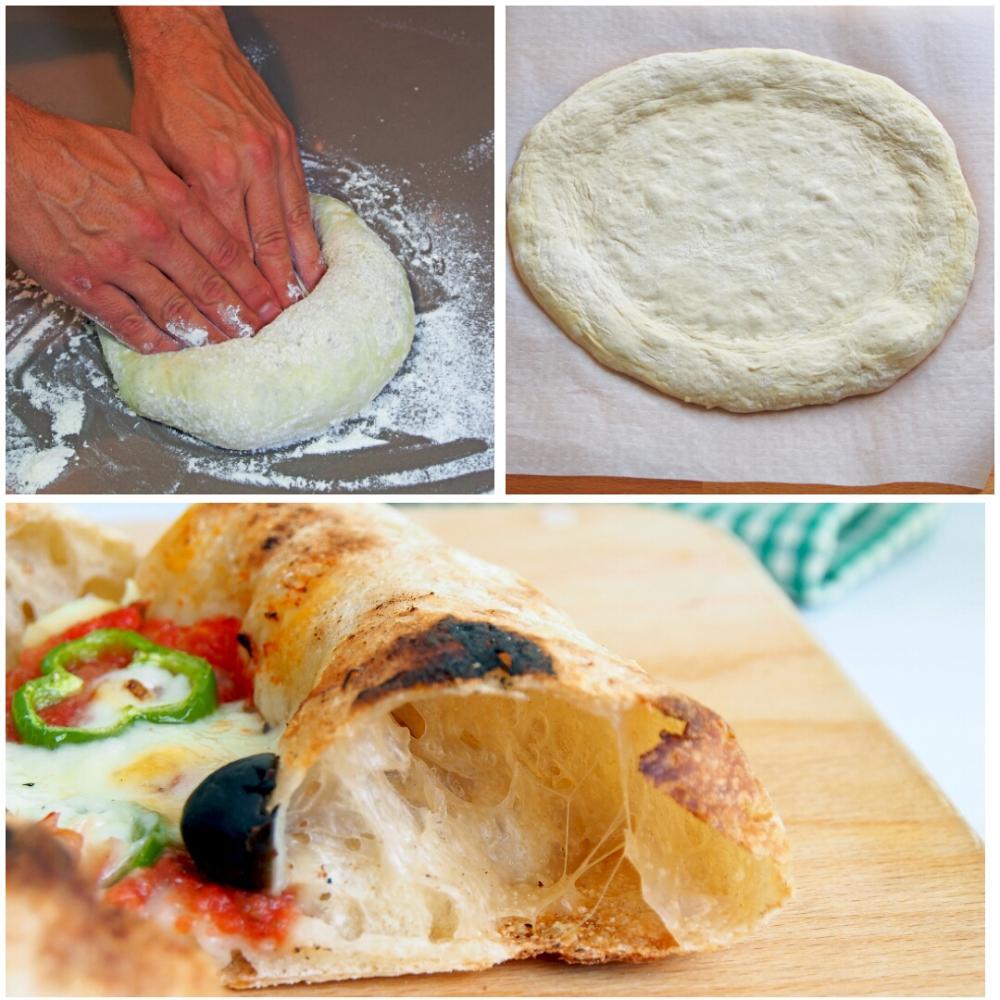 Cómo hacer masa de pizza italiana - Paso 8