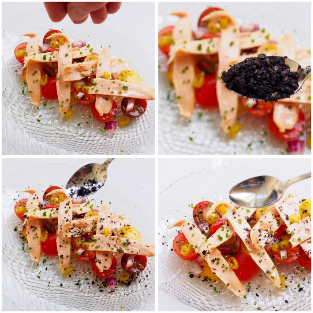 Ensalada de ventresca y tomate - Paso 5