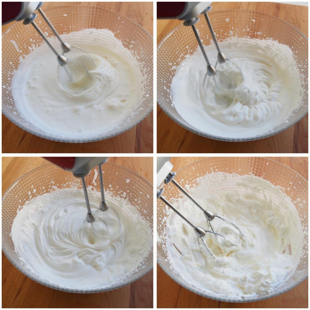 Cómo hacer nata montada - Paso 4
