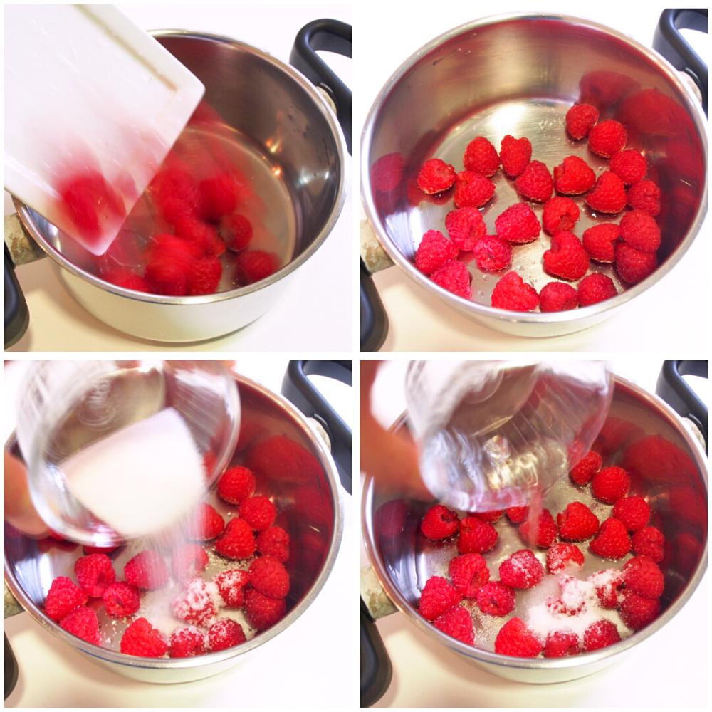 Cómo hacer coulis de frambuesa - Paso 1