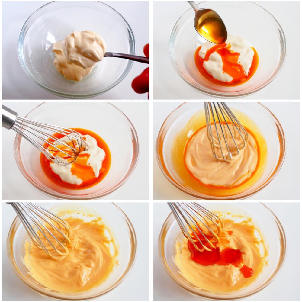 Pincho de mejillones y cachelos con mayonesa de su escabeche - Paso 3