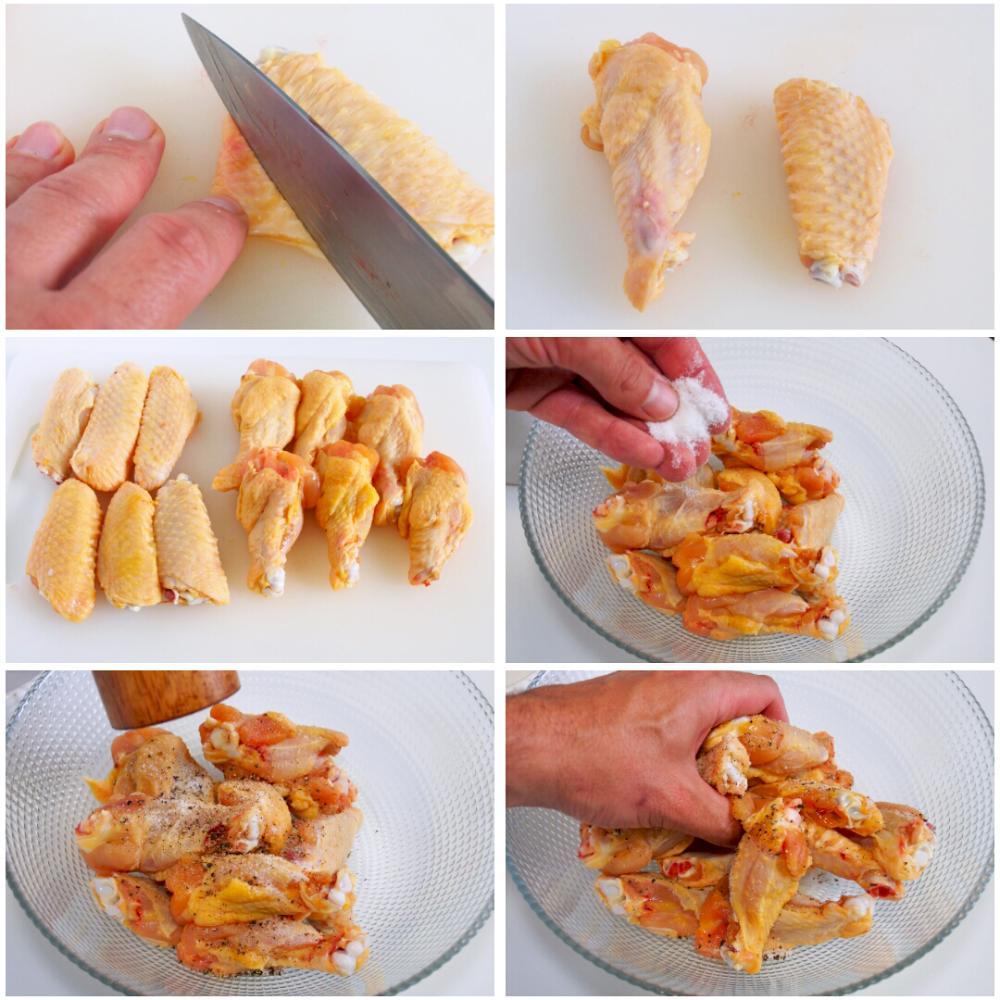 Alitas de pollo al horno - Paso 2