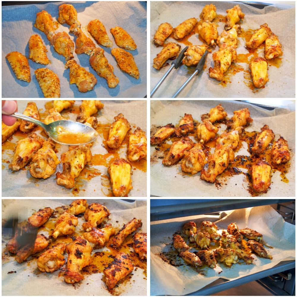 Alitas de pollo al horno - Paso 5
