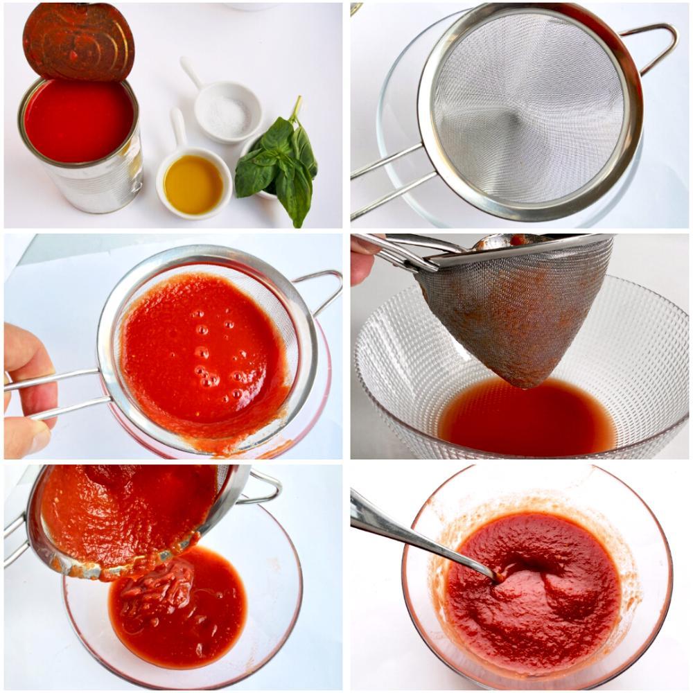 Salsa de tomate para pizza - Paso 1