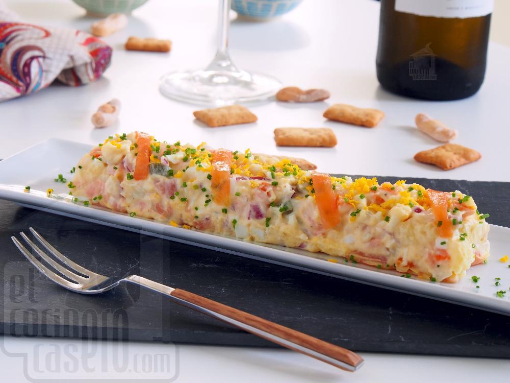 Ensaladilla de salmón ahumado - Paso 7