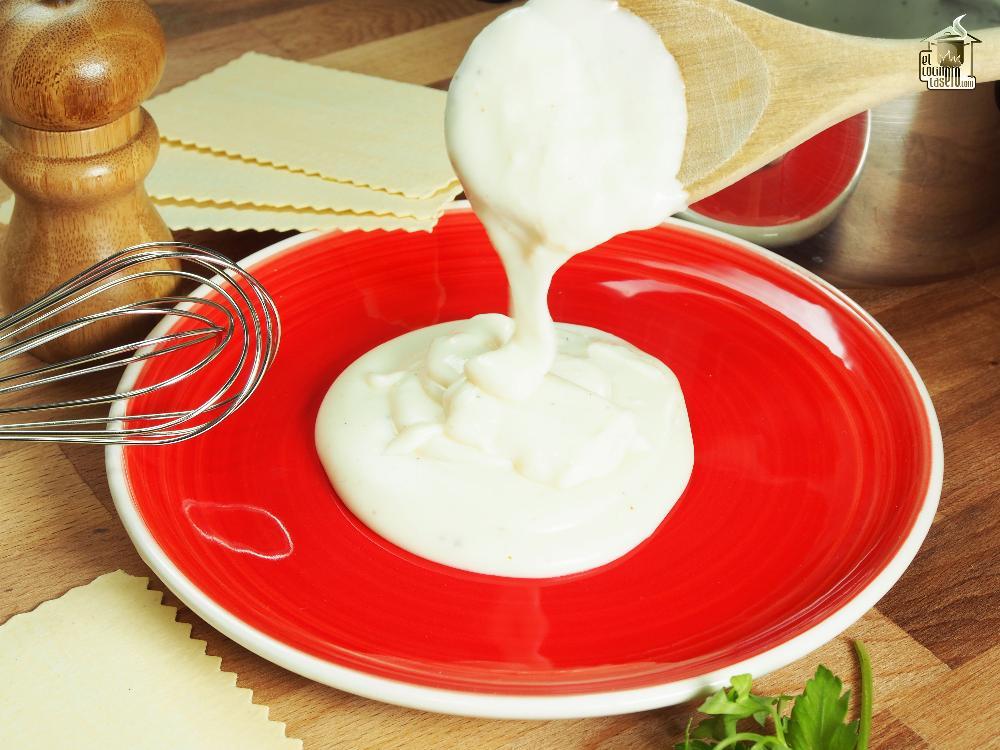 Receta salsa bechamel casera