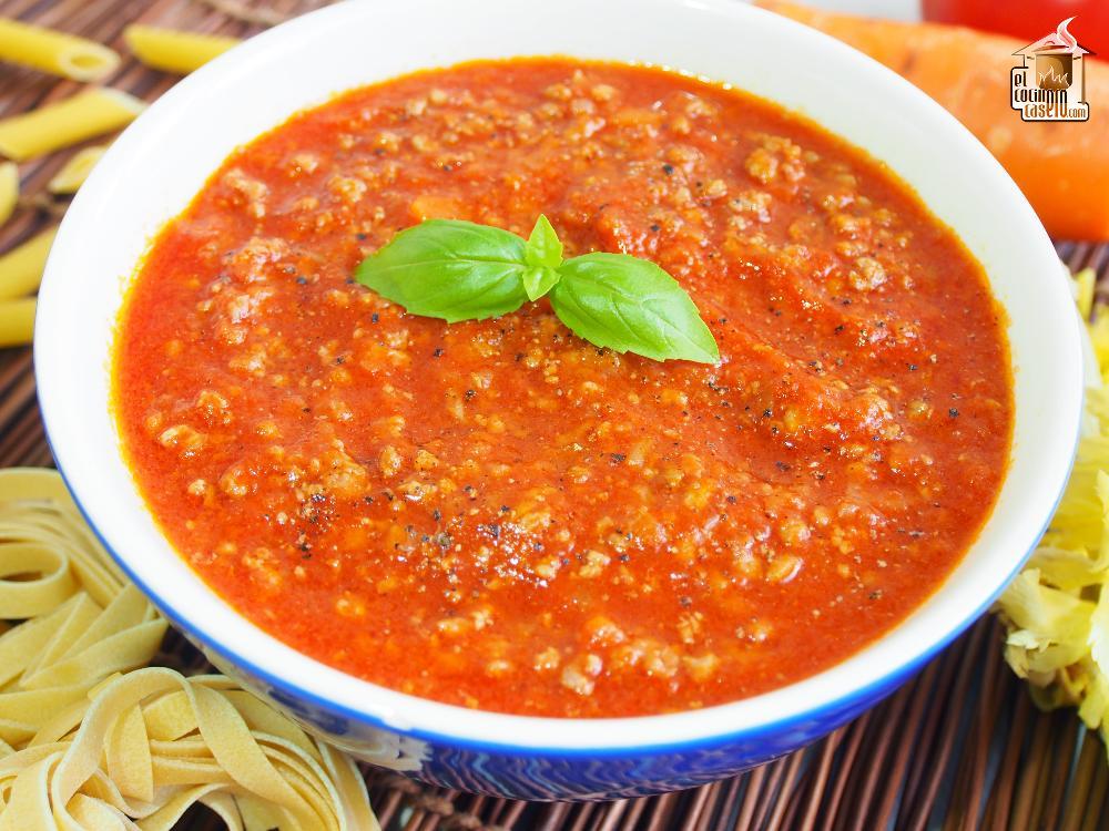 Cómo hacer salsa boloñesa