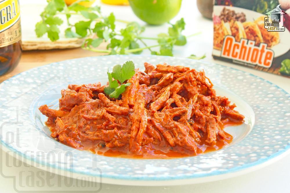 Cochinita Pibil. Receta Mexicana